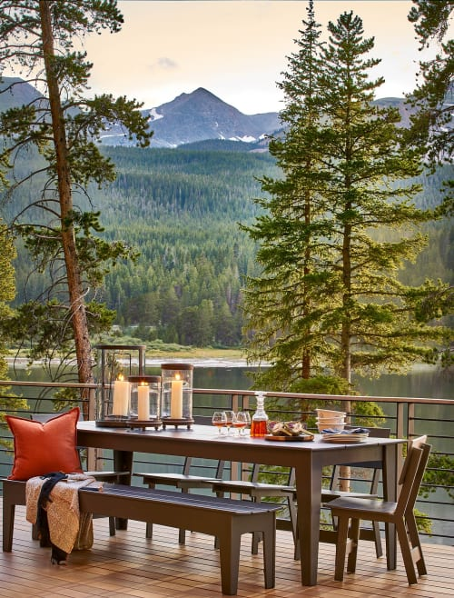 Furniture by Loll Designs seen at Private Residence, Blue River, Blue River - Outdoor Furniture