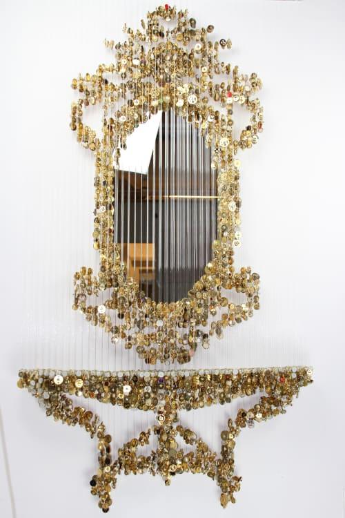 Sculptures by Augusto Esquivel seen at Miami, Miami - Golden Vanity