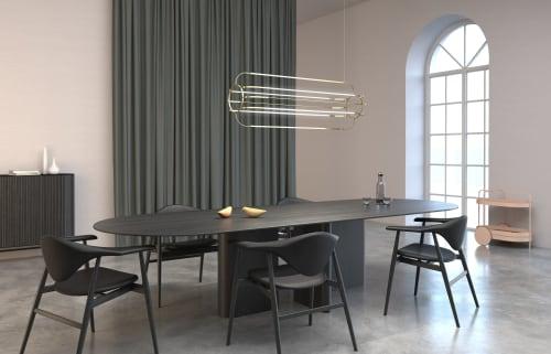 Chandeliers by Daniel Becker Studio seen at Creator's Studio, Berlin - Charlotte Pendant Lamp