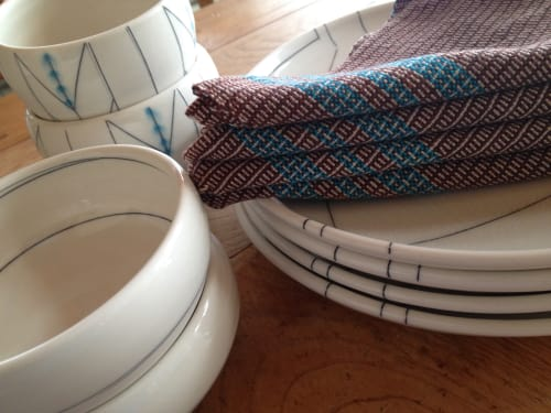 Ceramic Plates by Amy Halko Ceramics at Private Residence, Sonoma - Dinnerware