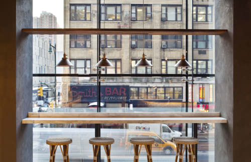 Pendants by Restoration Hardware seen at City Kitchen, New York - Pendants