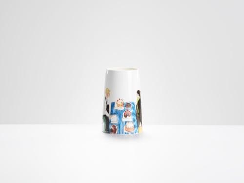 Vases & Vessels by Helen Beard Ceramics seen at Private Residence, London - Market vases
