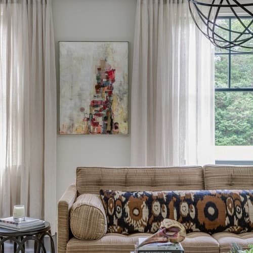 Paintings by Adrienne Shishko seen at Private Residence, Boston - Abstract Painting