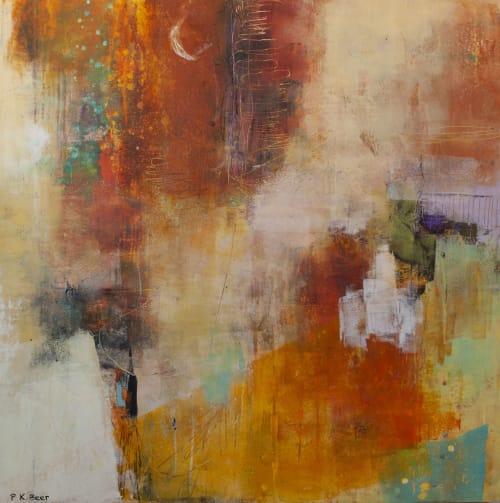 Paintings by Pamela K Beer Contemporary Fine Art seen at Creator's Studio, Sammamish - Pamela Beer