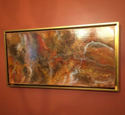 Paintings by Soulscape Art seen at Private Residence, Plano - Sierra