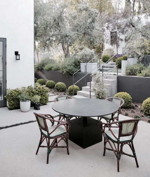 Tables by Mandy Graham seen at Private Residence, Los Angeles - Stone Table