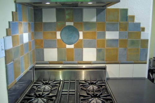 Tiles by Gregory Fields seen at Private Residence, Seattle - Kitchen Backsplash