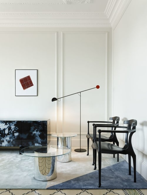 Rugs by NOW Carpets seen at Private Residence, Barcelona - KO 02 designed by Francesc Rifé,