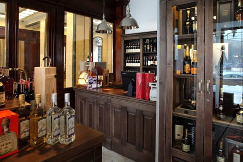 Interior Design by Roland Stańczyk architect seen at Fine Wine & Spirits, Warszawa - WINE STORE