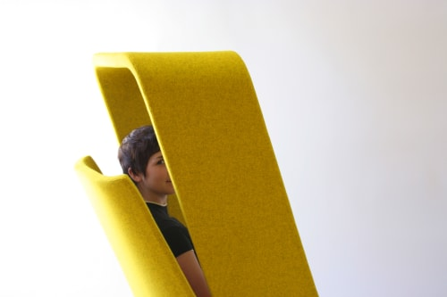 Chairs by Mike & Maaike at Autodesk, San Francisco - Windowseat