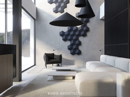Interior Design by KUOO ARCHITECTS by Katarzyna Kuo Stolarska seen at Private Residence, Altea Hills - HOLIDAY HOUSE IN SPAIN
