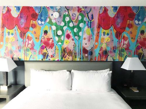 Murals by Liz Tran seen at Studio Allston Hotel, Boston - Studio Allston Murals