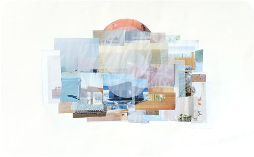 Art & Wall Decor by Linden Eller seen at Upolu - Living Near Water Hand Sewn Collage