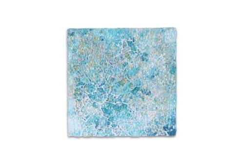 Wall Treatments by Chieko Shimizu Fujioka seen at Creator's Studio, Santa Clara - Colors of Lanikai