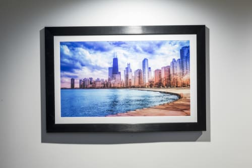Photography by The Pigshark seen at United Center, Chicago - United Center Artwork in Private Suites