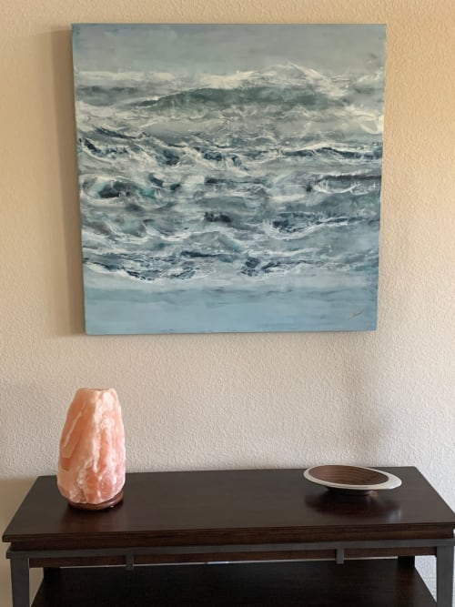 Paintings by Shima Shanti seen at Private Residence, Parker - Kinesis