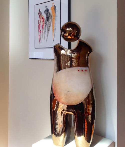 Sculptures by MARY-ANN  PRACK    SCULPTOR/PAINTER seen at Private Residence, Jefferson - FILLE DU SOLEIL