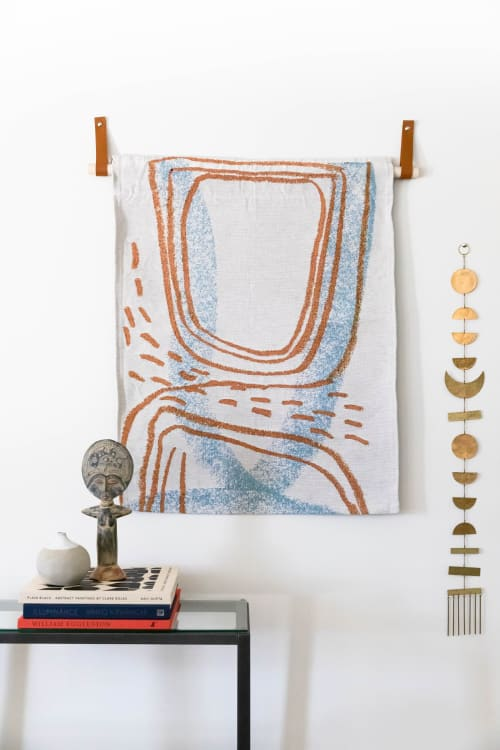 Wall Hangings by K'era Morgan seen at Creator's Studio, Los Angeles - Topographic