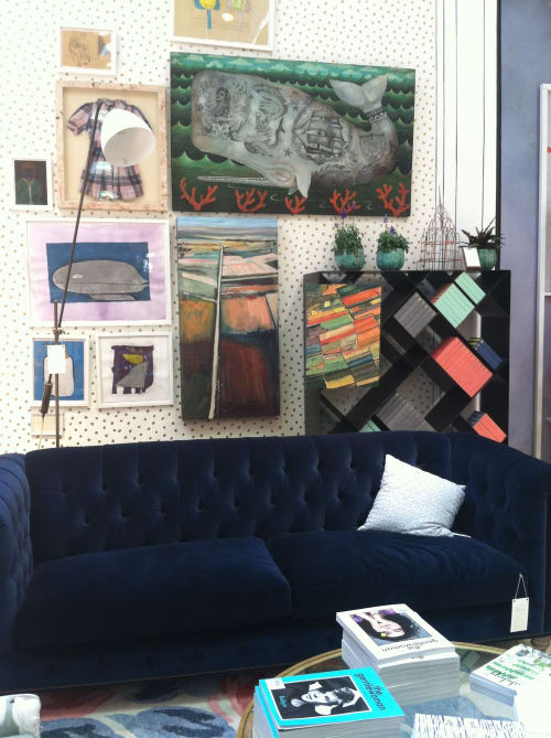 Murals by Kim Ford Kitz seen at Anthropologie, Corte Madera - Abstract paintings