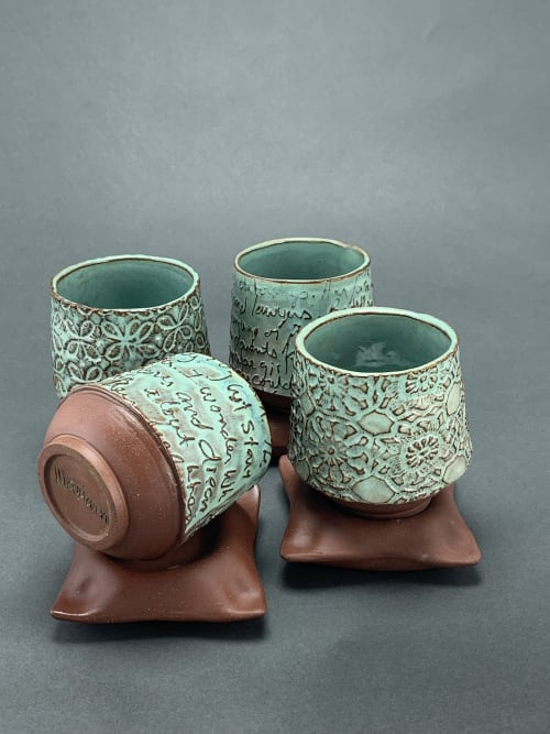 Cups by Mariana Ceramics seen at Gainesville, Gainesville - Pillow Cups