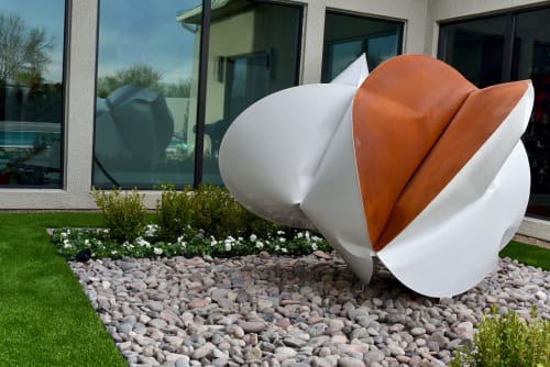 Sculptures by Jeremy Thomas Studio - IH Self-Propeled White