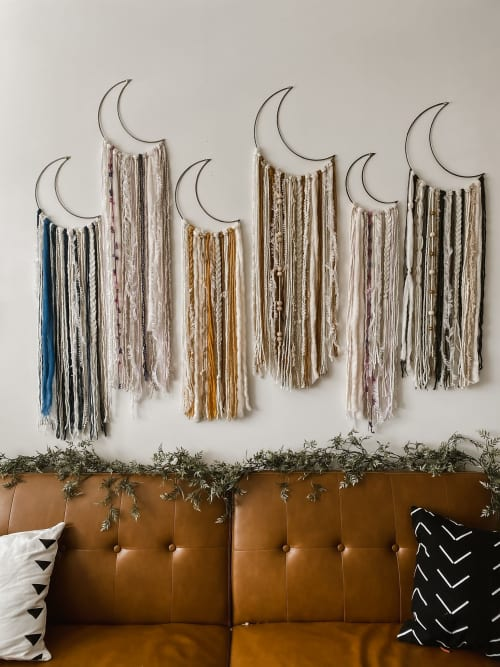 Native and Found - Macrame Wall Hanging and Art