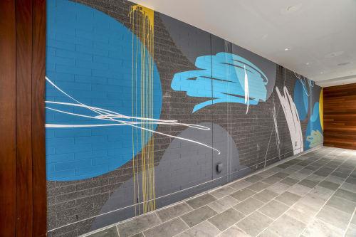 Murals by Ryan Coleman seen at Canopy By Hilton Atlanta Midtown, Atlanta - Wall Painting