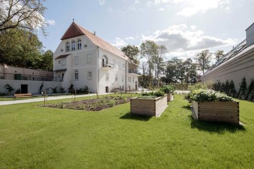 Interior Design by destilat Design Studio GmbH seen at Private Residence, Kirchberg am Wagram - Gut Wagram