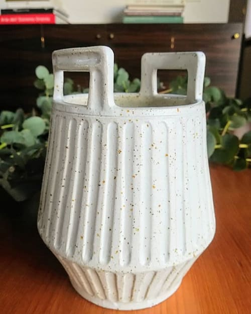 Vases & Vessels by LAM Ceramica Venezia - Basket vase