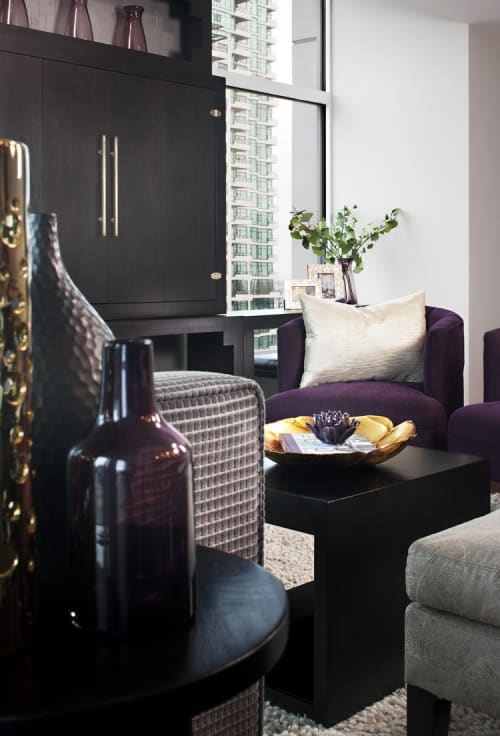 Furniture by Christopher Original at Private Residence, San Diego - Media Cabinet