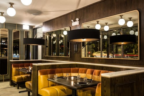 The Kennison, Restaurants, Interior Design
