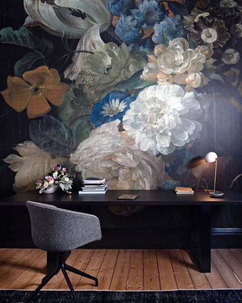 Interior Design by Lucy Clemenger Architects seen at Private Residence, South Yarra - The Black Study Room