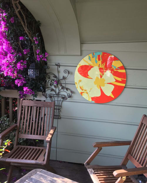 Paintings by Karen Olsen-Dunn seen at Private Residence, San Francisco - Fiji Plumeria