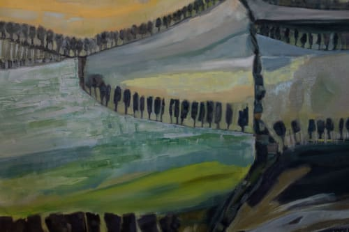 Paintings by Cécile Ganne seen at Private Residence, Belmont - Beyond Frontiers