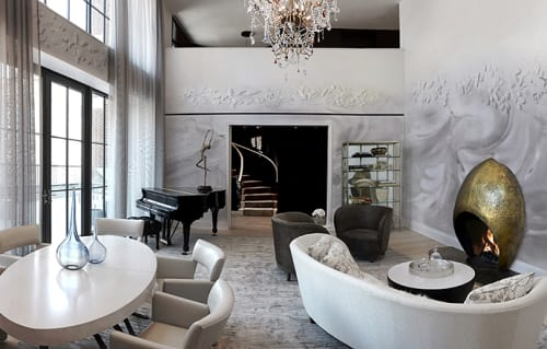 Interior Design by Joe Ginsberg Design seen at Private Residence, New York - Artisan Luxury
