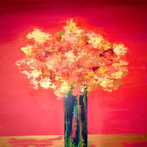 Paintings by Ben Bonart seen at Private Residence, New York - Spring Bouquet