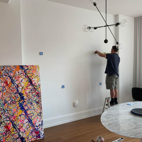 Paintings by Christopher Yockey seen at Private Residence, New York - Painting