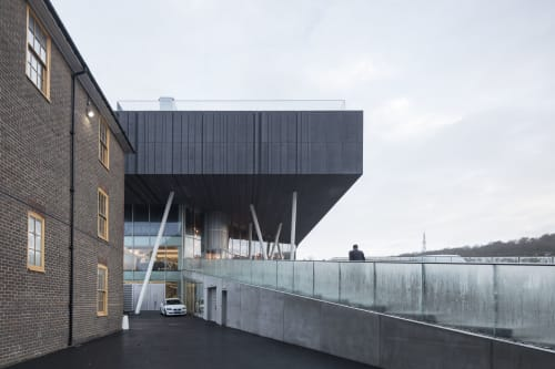 Architecture by OMA seen at Brighton, Brighton - Brighton College