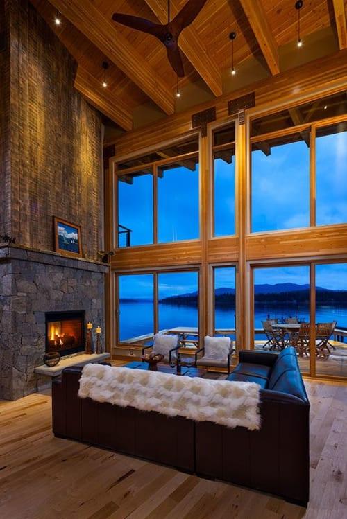 Interior Design by Tammie Ladd Design, Inc. seen at Priest Lake - Interior Design