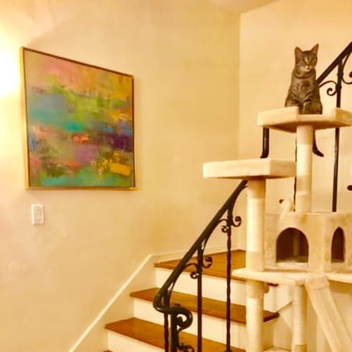 Paintings by Arleen Joseph seen at Private Residence, Los Angeles - Aurora