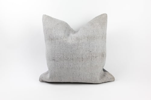 Single Sided Vintage Hemp Pillows   Pillows by HOME
