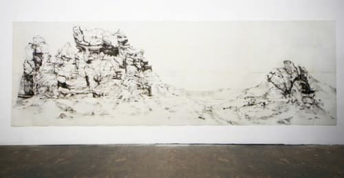 Paintings by Afton Love seen at Santa Fe, Santa Fe - La Plaza Blanca