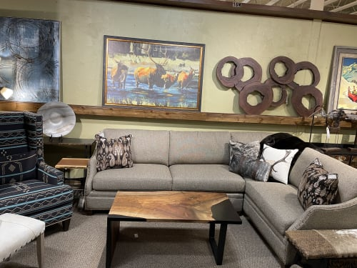 Tables by Good Good Wood seen at NW Home Interiors - Furniture Store & Interior Design, Bend - English Walnut Waterfall Coffee Table