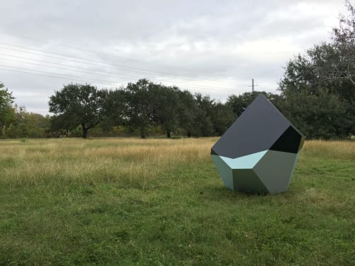 Public Sculptures by Dameon Lester seen at Austin, Austin - Humble / B-15 (Oil + Ice)
