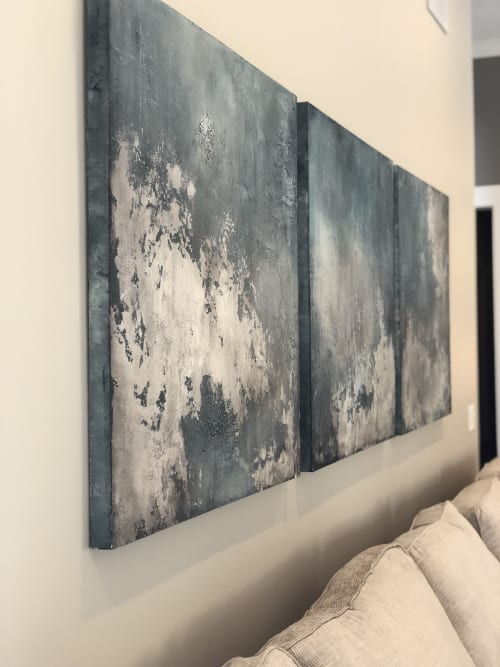 Paintings by EMILY POPE HARRIS ART seen at Private Residence, Statesboro - Commissioned Art