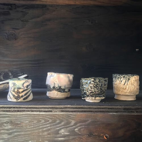Cups by Tracey Kessler/TKID seen at Bay Area Made x Wescover 2019 Design Showcase, Alameda - Yunomi tea cups