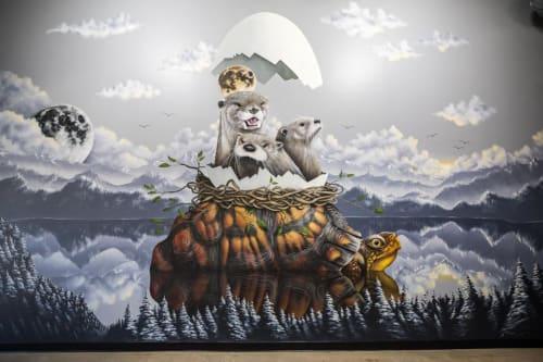 Thomas Turner Art - Murals and Street Murals