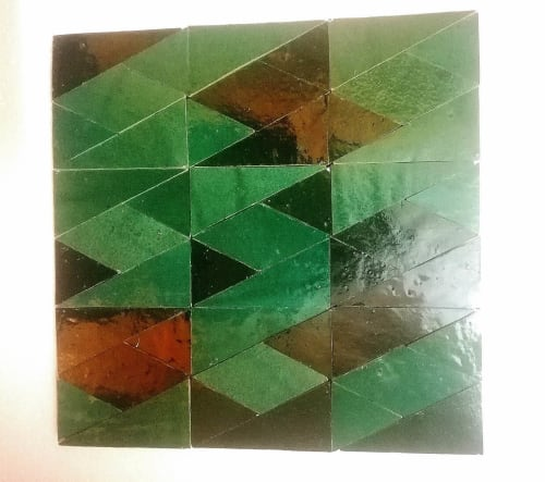Tiles by Rachid Lachhab seen at Private Residence, Fes - Zellige & Ciment tile, and Natural Stone.