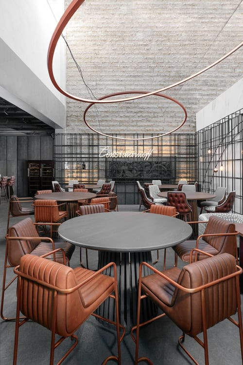 Interior Design by MMXX architects seen at Constantinoff RestoBar, Sofia - Interior Design