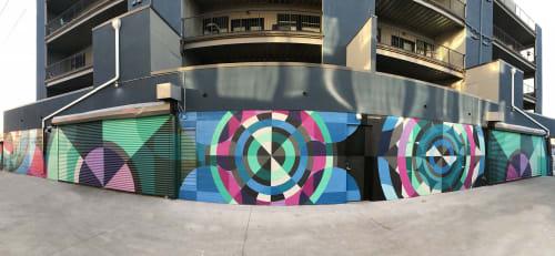 Murals by Jason T. Graves seen at Urban Green Development, Denver - Original mural designed by Jason T. Graves